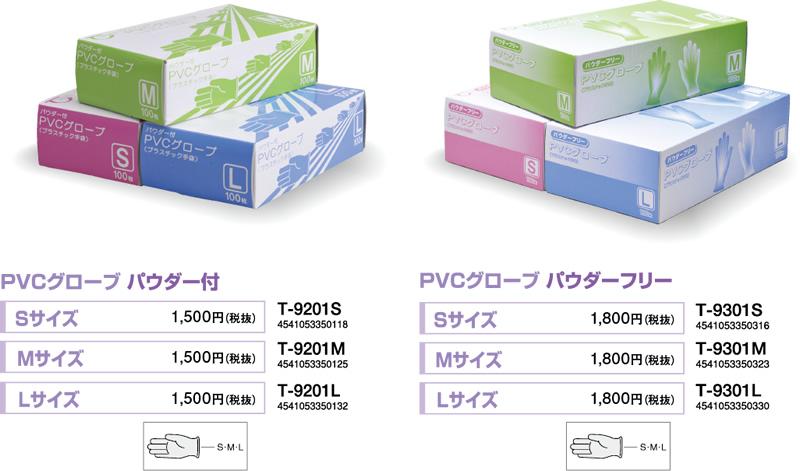 PVCグローブ(プラスチック手袋)